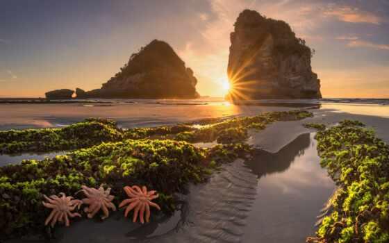 landscape, закат, natural, море, природа, multimedia, far, compact
