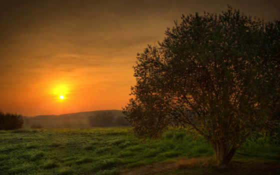 обоев, sunset