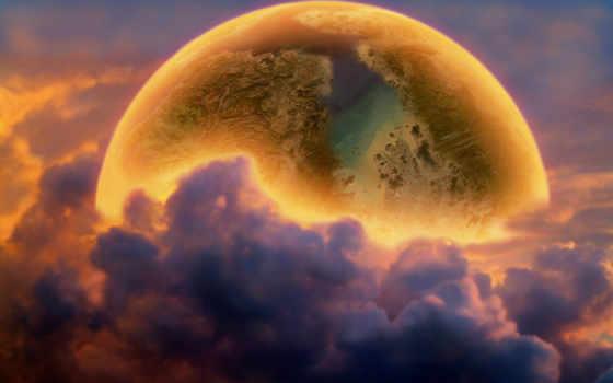 planet, фэнтези, космос