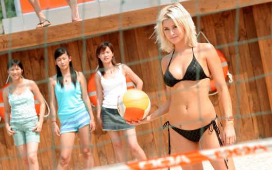 волейбол, пляжный, женский,