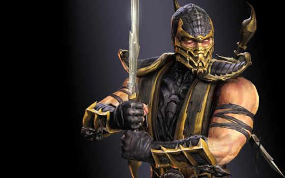 kombat, mortal, scorpion, воин, ninja, ghost, zero, подкатегория, комбат, высоком,