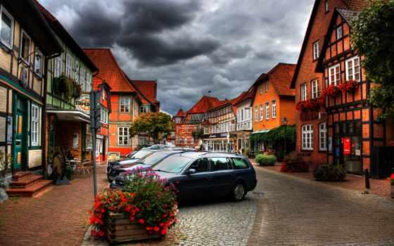 german, дома, германии, недвижимость, hdr, люди, город, даниэля, меннериха, фотографиях, улица,