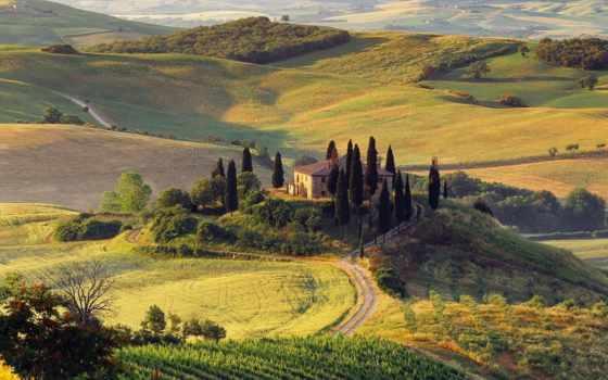 italian, landscape, терме