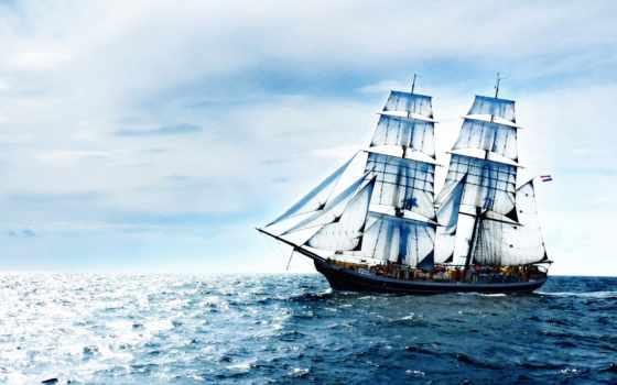 корабль, корабли, море, заставки, sana, парусник, sailboat, фотографий, ржавый, луна, габриелле,