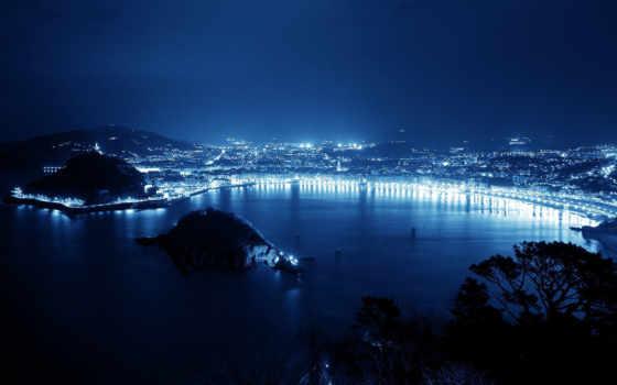 город, ночь
