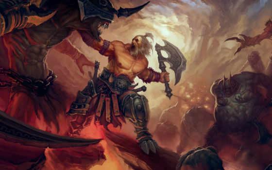 diablo, iii, святая