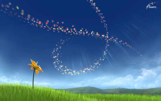 цветы, game, thatgamecompany