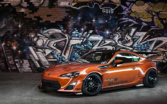 toyota, scion, graffiti,