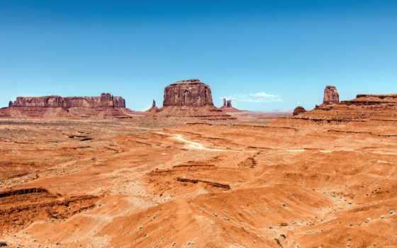 долина, памятник, монументов, сша, marte, небо, памятников, навахо, utah,