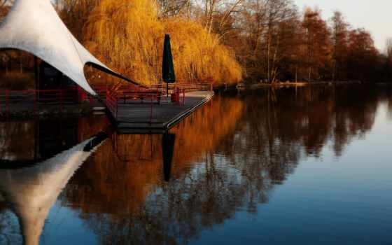 ,reflections, lake, cool, nice, park, lakes,
