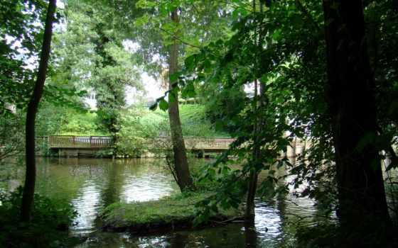 danish, оденсе, река, природа, дек, drift, fotohomka, reki, часть,