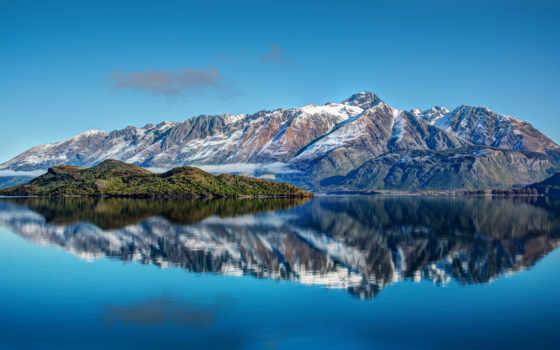 desktop, горы, озеро