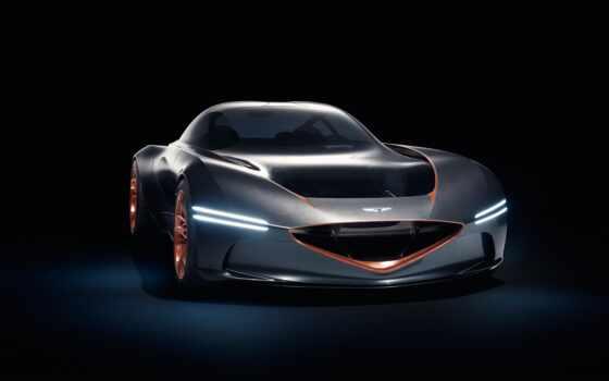 genesis, essens, concept, car, бренд, показать, coupe, нью
