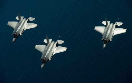 lightning, истребитель, lockheed, martin, реактивный, самолёт, устройство, военный