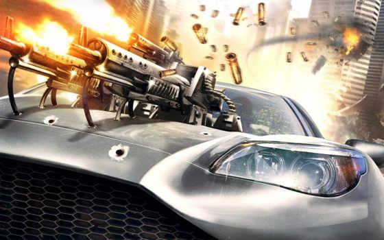 game, car