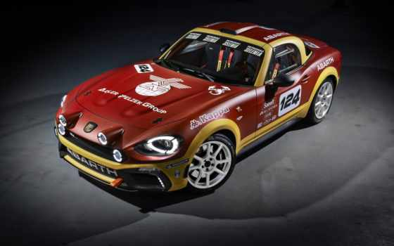 abarth, fiat, rally, мар, car,