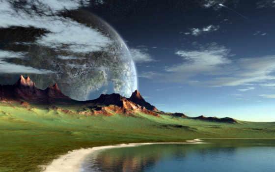alien, landscape, пейзажи -, fantasy, новости, красивые,