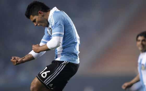 aguero, футбол Фон № 22014 разрешение 1920x1080
