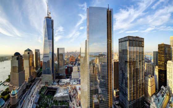 new, york, небоскребы, нью, город, manhattan, world, trade, центр,