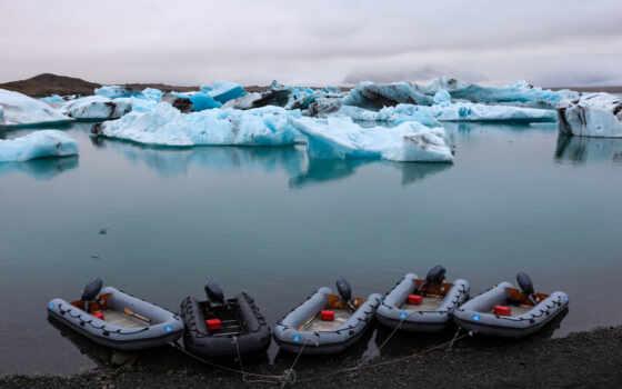море, лед, iceland, берег, берег, лодка, iceberg, исландия, more, led, laguna
