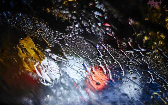 краска, water, дождь, drop, макро
