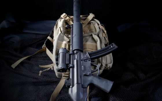 оружие, heckler, koch, arm, small, джин