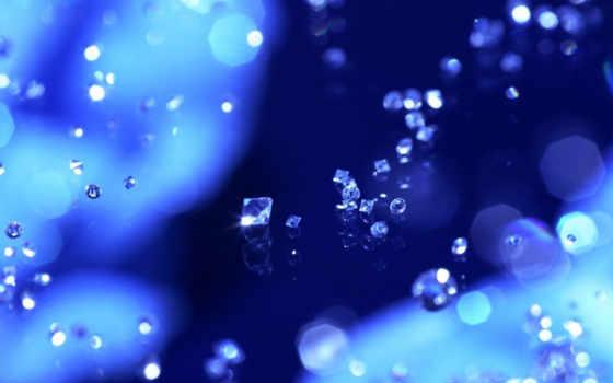бриллианты на стекле