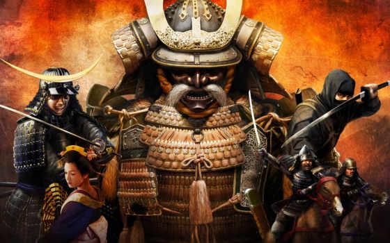 shogun, war, total,