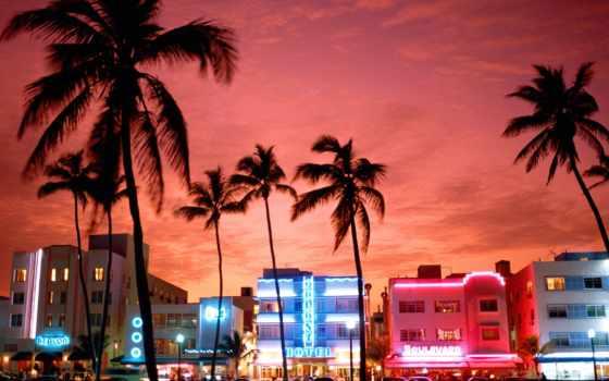 пляж, miami, hotel