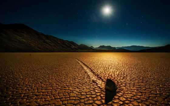пустыня, ночь, долина, landscape, desktop, смерть, rock,