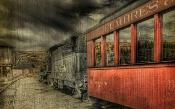 поезд, vintage, free, desktop,