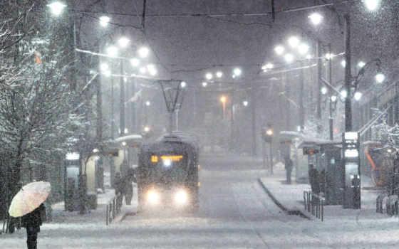снег, winter, город, нравится, заснеженные, улицы, городов, трамвай, chr, восход, яndex,