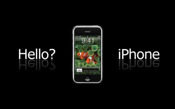 iphone, hello, apple