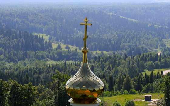 кросс, dome, church, лес, imgator, купола, сервис, изображений,