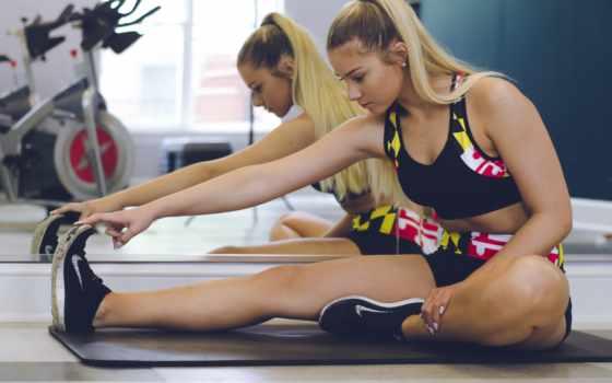 gym, фитнес, девушка, workout