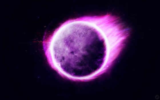 planet, фиолетовый, stranger