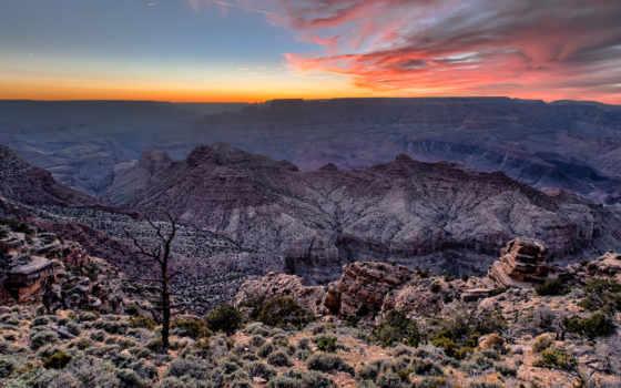 каньон, grand, park, national, arizona,