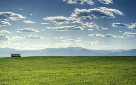 летние, summer, весна, горы, зелёный, oblaka, весенние, гора, красивые, sitting, фоны,