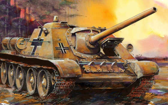 sou, soviet, installation, истребитель, арта, automotive, artillery, acs, танк, drawing, гиря