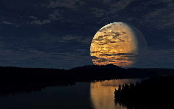 luna, большая