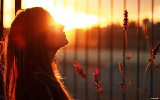 sun, девушка, за