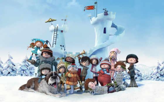 анимация, snowtime, movies