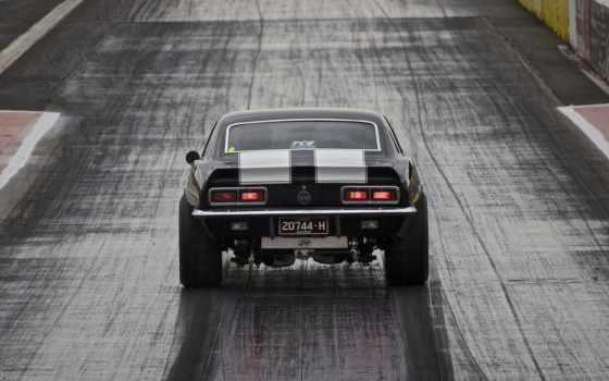 muscle, car, drag