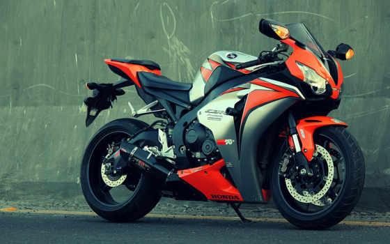 honda, спортивный, мотоцикл