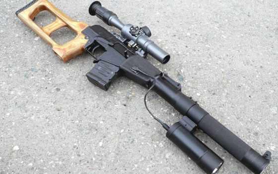 винторез, vss, винтовка