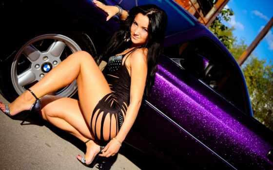 bmw, красивые, hot, фотографий, девушка, фиолетовая, vũ, белье, motorcycles, ir,