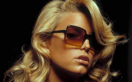 очках, blonde, темных, джессика, черном, симсон, singer, devushki, fone, клипарт,