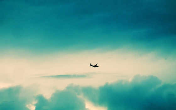 самолёт, небо