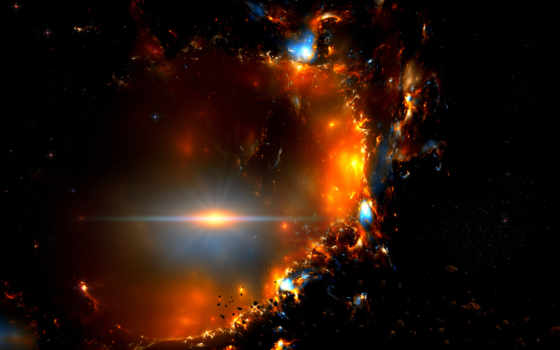 метеориты, вспышка