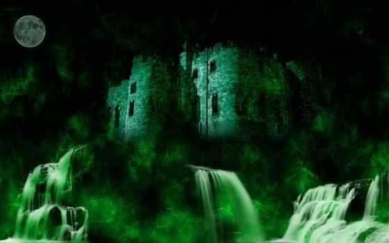 castle, desktop, fantasy, high, abyss,